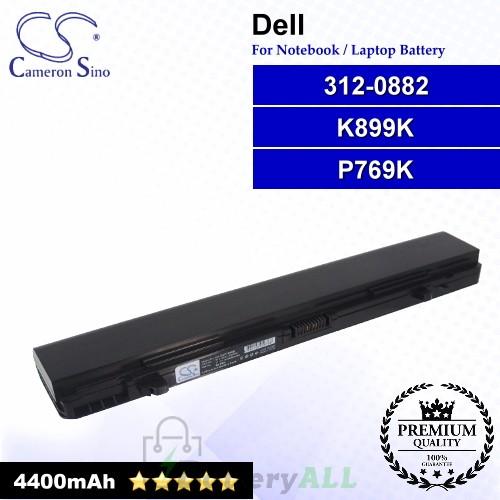 CS-DEP769NB For Dell Laptop Battery Model 0K875K / 0K899K / 0P769K / 0P773K / 0P776K / 312-0882 / 312-0883