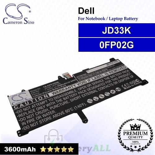 CS-DES100NB For Dell Laptop Battery Model 0FP02G / JD33K