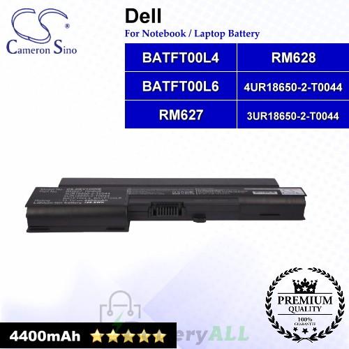 CS-DEV120NB For Dell Laptop Battery Model 3UR18650-2-T0044 / 4UR18650-2-T0044 / BATFT00L4 / BATFT00L6