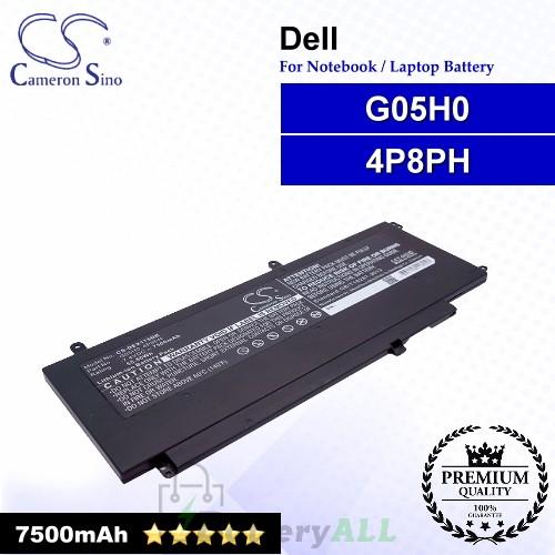 CS-DEX175NB For Dell Laptop Battery Model 4P8PH / G05H0