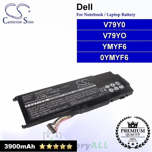 CS-DEXP140NB For Dell Laptop Battery Model 0YMYF6 / V79Y0 / V79YO / YMYF6
