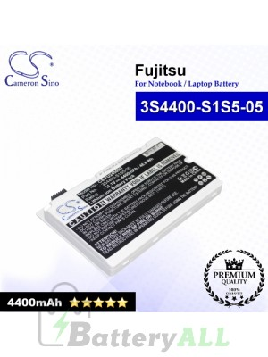 CS-FU2450NT For Fujitsu Laptop Battery Model 3S4400-S1S5-05 / 3S4400-S3S6-07 (White)