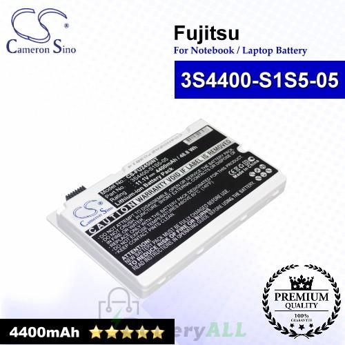CS-FU2450NT For Fujitsu Laptop Battery Model 3S4400-S1S5-05 / 3S4400-S3S6-07 (White)