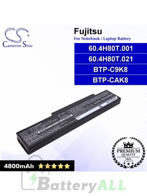 CS-FU3650NB For Fujitsu Laptop Battery Model 60.4H80T.001 / 60.4H80T.021 / BTP-C9K8 / BTP-CAK8