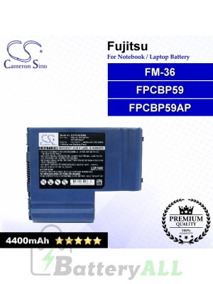 CS-FU4010NB For Fujitsu Laptop Battery Model FM-36 / FPCBP59 / FPCBP59AP