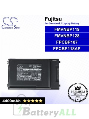 CS-FU6240NB For Fujitsu Laptop Battery Model FMVNBP119 / FMVNBP128 / FPCBP107 / FPCBP117 / FPCBP118