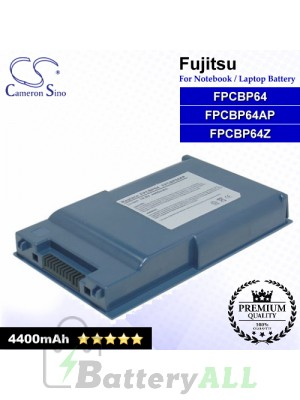 CS-FU6310NB For Fujitsu Laptop Battery Model FPCBP64 / FPCBP64AP / FPCBP64Z
