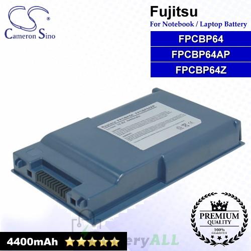 CS-FU6310NB For Fujitsu Laptop Battery Model FPCBP64 / FPCBP64AP / FPCBP64Z