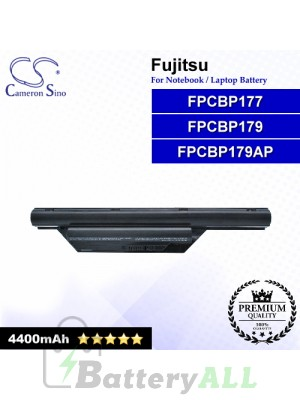 CS-FU6410NB For Fujitsu Laptop Battery Model FPCBP177 / FPCBP179 / FPCBP179AP