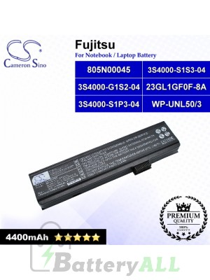 CS-UNL50NB For Fujitsu Laptop Battery Model 23GL1GF0F-8A / 3S4000-G1S2-04 / 3S4000-S1P3-04 / 3S4000-S1S3-04