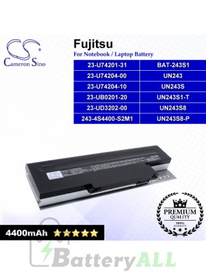 CS-UWN243NB For Fujitsu Laptop Battery Model UN243S / UN243S9-P