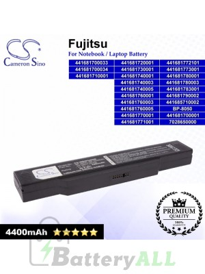 CS-WBW320NB For Fujitsu Laptop Battery Model 441681700001 / 441681700033 / 441681700034 / 441681710001