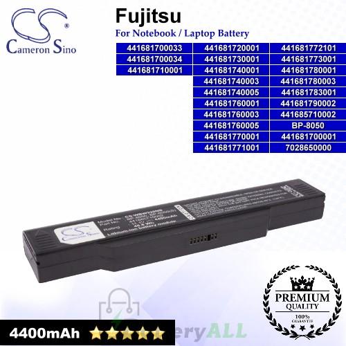 CS-WBW320NB For Fujitsu Laptop Battery Model 441681700001 / 441681700033 / 441681700034 / 441681710001