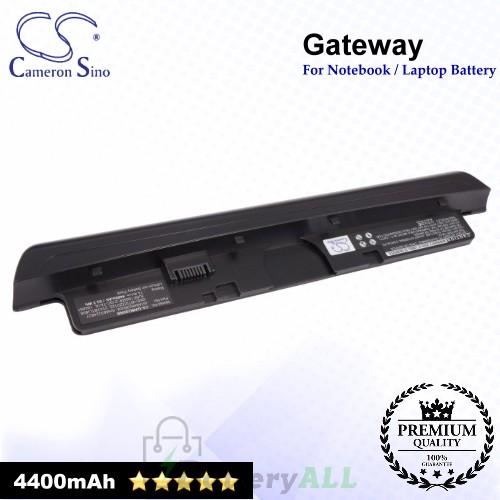 CS-GWM280NB For Gateway Laptop Battery Model 104891 / 106651 / 1066516 / 2TA1BTLI603 / 2TA1BTLI808