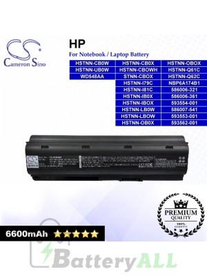 CS-HDM4HB For HP Laptop Battery Model 586006-321 / 586006-361 / 586007-541 / 593553-001 / 593554-001 / 593562-001