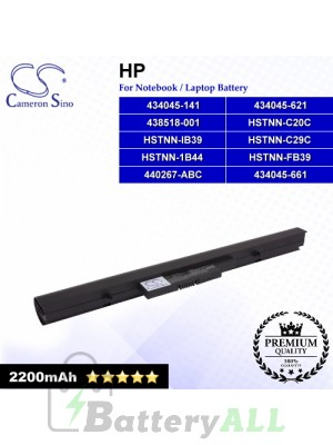 CS-HDP520NB For HP Laptop Battery Model 434045-141 / 434045-621 / 434045-661 / 438518-001 / 440267-ABC / HSTNN-1B44
