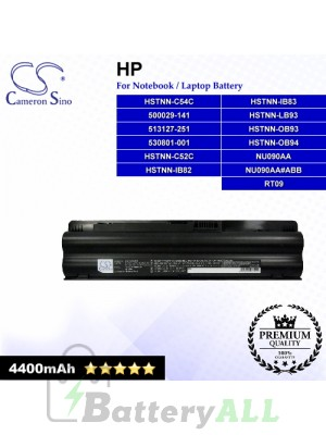 CS-HDV32NB For HP Laptop Battery Model 500029-141 / 513127-251 / 516479-121 / 530801-001 / 530802-001 / HSTNN-C52C