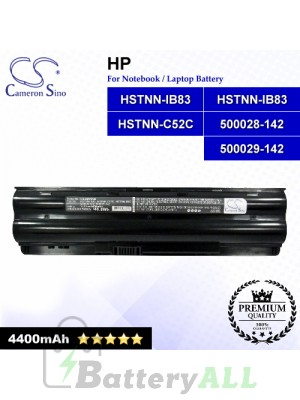 CS-HDV3NB For HP Laptop Battery Model 500029-142 / HSTNN-C52C / HSTNN-IB83