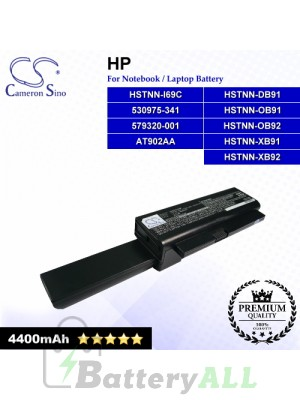 CS-HP4210HB For HP Laptop Battery Model 530975-341 / 579320-001 / AT902AA / HSTNN-DB91 / HSTNN-I69C