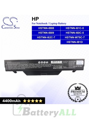 CS-HP4510NB For HP Laptop Battery Model 513130-321 / 535753-001 / 535808-001 / 572032-001 / 591998-141 / 593576-001