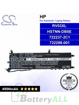 CS-HPA200NB For HP Laptop Battery Model 722237-2C1 / 722298-001 / HSTNN-DB5E / RV03050XL / RV03XL