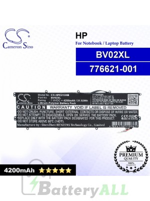 CS-HPE213NB For HP Laptop Battery Model 776621-001 / BV02XL