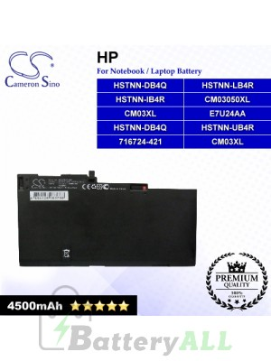 CS-HPE850NB For HP Laptop Battery Model 716724-1C1 / 716724-421 / CM03050XL / CM03XL / E7U24AA / HSTNN-DB4Q
