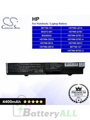 CS-HPF420NB For HP Laptop Battery Model 587706-121 / 587706-751 / 593572-001 / BQ350AA / HSTNN-CB1A