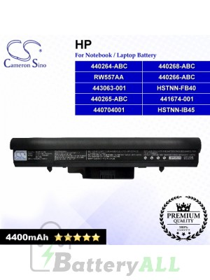 CS-HPF510HB For HP Laptop Battery Model 440264-ABC / 440265-ABC / 440266-ABC / 440268-ABC / 440704001 / 441674-001