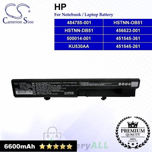 CS-HPF540HB For HP Laptop Battery Model 451545-261 / 451545-361 / 456623-001 / 484785-001 / 500014-001