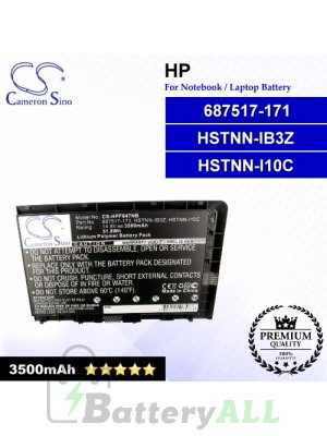 CS-HPF947NB For HP Laptop Battery Model 687517-171 / 687517-1C1 / 687517-241 / 687945-001 / 696621-001 / BA06