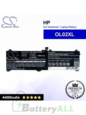 CS-HPG101NB For HP Laptop Battery Model OL02XL