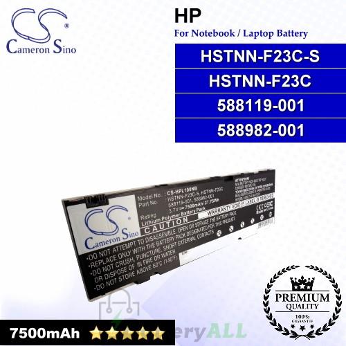 CS-HPL100NB For HP Laptop Battery Model 588119-001 / 588982-001 / HSTNN-F23C / HSTNN-F23C-S