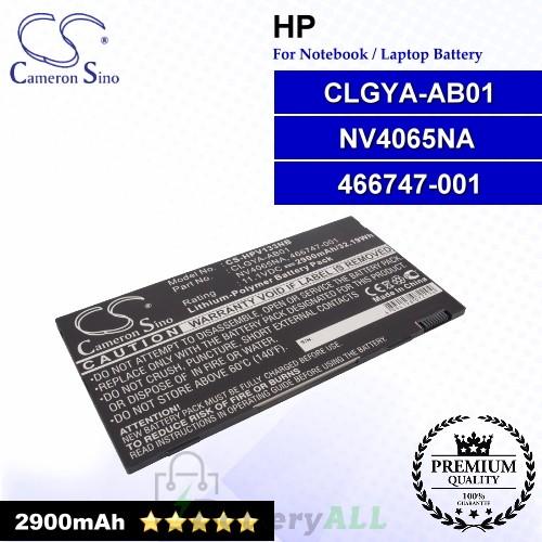 CS-HPV133NB For HP Laptop Battery Model 466747-001 / CLGYA-AB01 / NV4065NA