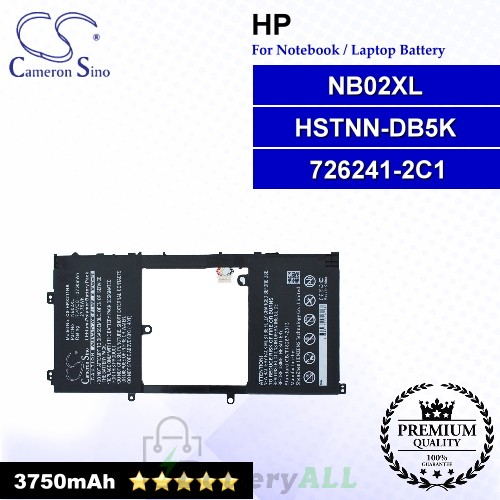 CS-HPX211NB For HP Laptop Battery Model 726241-2C1 / HSTNN-DB5K / NB02XL