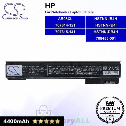 CS-HPZ150NB For HP Laptop Battery Model 1588-3003 / 707614-121 / 707614-141 / 707615-141 / 708455-001