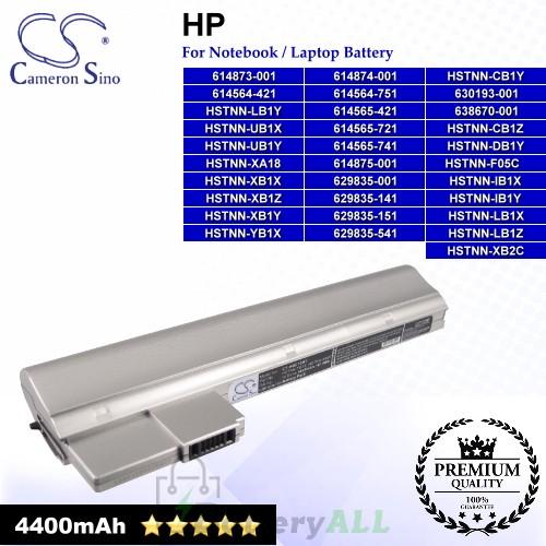 CS-HQC10NT For HP Laptop Battery Model 614564-421 / 614564-751 / 614565-421 / 614565-721 / 614565-741 (Silver)