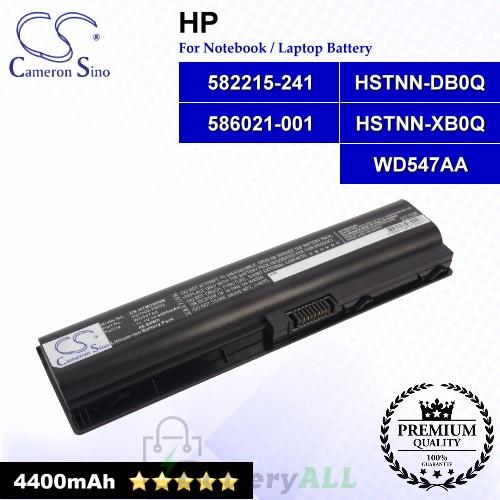 CS-HTM200NB For HP Laptop Battery Model 582215-241 / 582215-421 / 586021-001 / HSTNN-DB0Q