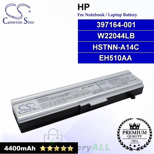 CS-NX4300NB For HP Laptop Battery Model 397164-001 / EH510AA / HSTNN-A14C / W22044LB