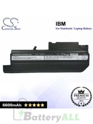 CS-IBT40XL For IBM Laptop Battery Model 08K8194 / 92P1010 / 92P1011 / 92P1013 / 92P1058 / 92P1060 / 92P1061