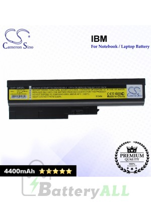 CS-IBT60HL For IBM Laptop Battery Model 40Y6797 / 40Y6798 / 40Y6799 / 41N5666 / 41U3196 / 42T4504 / 42T4511