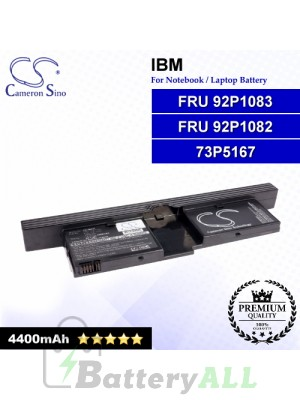 CS-IBX41 For IBM Laptop Battery Model 73P5167 / FRU 92P1082 / FRU 92P1083