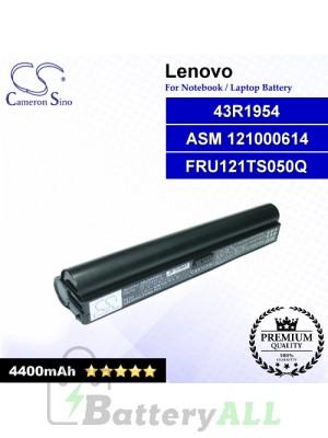 CS-LNY310NB For Lenovo Laptop Battery Model 121000614 / 121TS050Q / 43R1954 / ASM 121000614