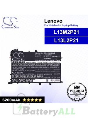 CS-LVA100NB For Lenovo Laptop Battery Model L13L2P21 / L13M2P21