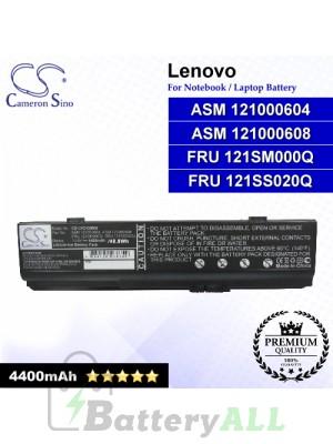 CS-LVC430NB For Lenovo Laptop Battery Model ASM 121000604 / ASM 121000608 / FRU 121SM000Q / FRU 121SS020Q