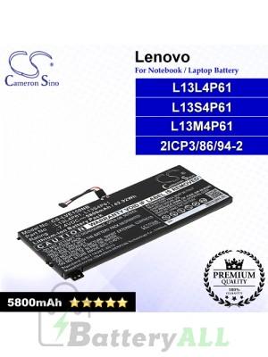 CS-LVE150NB For Lenovo Laptop Battery Model 2ICP3/86/94-2 / L13L4P61 / L13M4P61 / L13S4P61