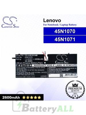 CS-LVE391NB For Lenovo Laptop Battery Model 45N1070 / 45N1071