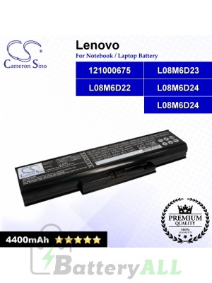 CS-LVE430NB For Lenovo Laptop Battery Model 121000675 / L08M6D22 / L08M6D23 / L08M6D24