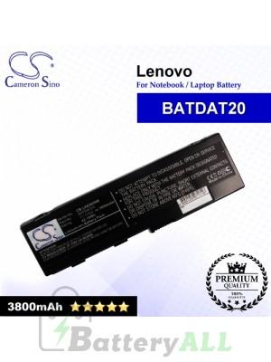 CS-LVE680NB For Lenovo Laptop Battery Model BATDAT20