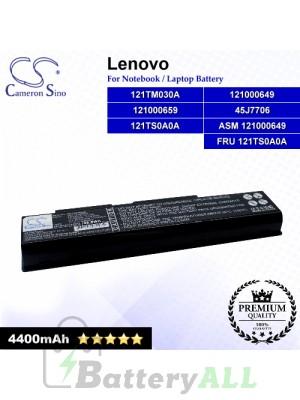 CS-LVF510NB For Lenovo Laptop Battery Model 121000649 / 121000659 / 121TM030A / 121TS0A0A / 45J7706